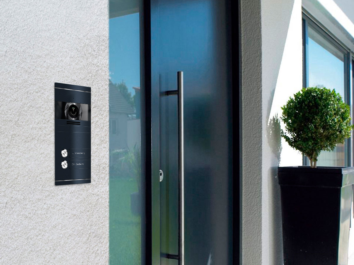 VDM10 Mehrfamilien Türsprechanlage Funktionen
