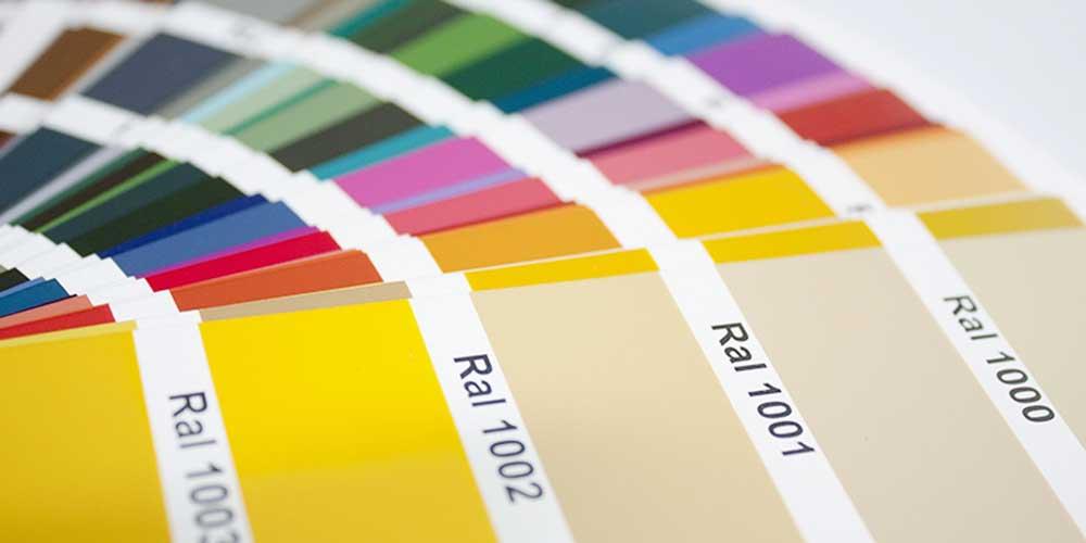 Metzler RAL Farben im Überblick